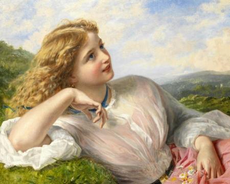 Cô gái với nụ cười tựa thiên đường